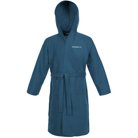 speedo Microfiber Bathrobe teal